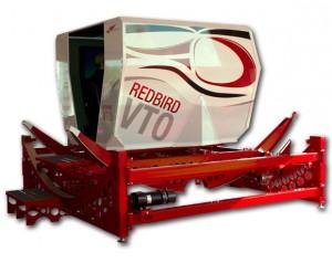 VTO Redbird helicopter simulator